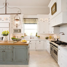 Eclectic Kitchen by Ruth Richards, Allied ASID