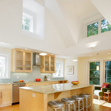 Midcentury Kitchen by S+H Construction