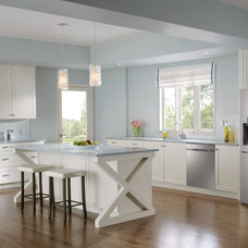 Contemporary Kitchen by Samsung Canada