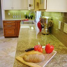 Traditional Kitchen by Fiorito Interior Design