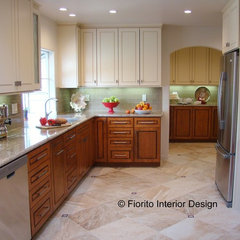 traditional kitchen by Fiorito Interior Design