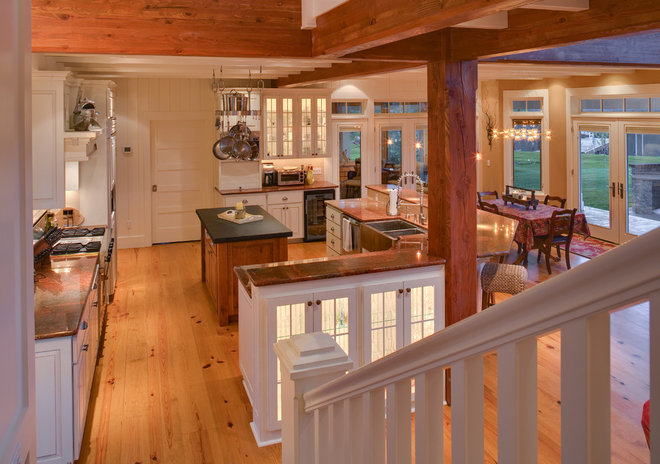 Traditional Kitchen by Jon R. Sayler, Architect AIA PS