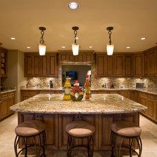 Traditional Kitchen by Lili Fleming-Nieri, ASID