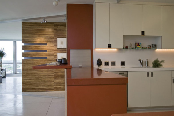 Contemporary Kitchen by Searl Lamaster Howe Architects