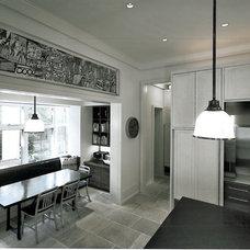 Contemporary Kitchen by SemelSnow Interior Design, Inc.