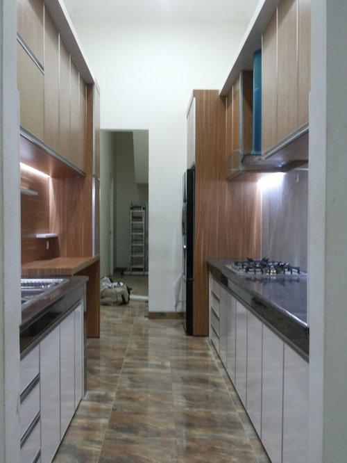 Petite cuisine avec un vier 3 bacs photos et id es d co for Petite cuisine minimaliste