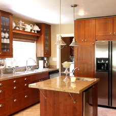 Transitional Kitchen by Shelley Gardea