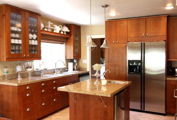 Transitional Kitchen by Shelley Gardea