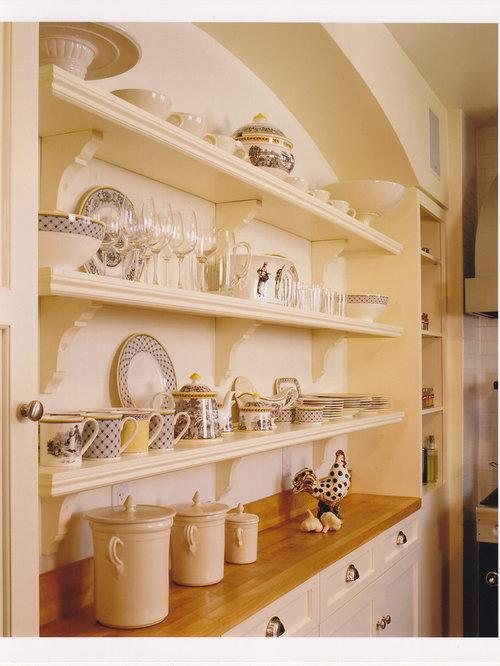 Corbels Under Shelves | Houzz