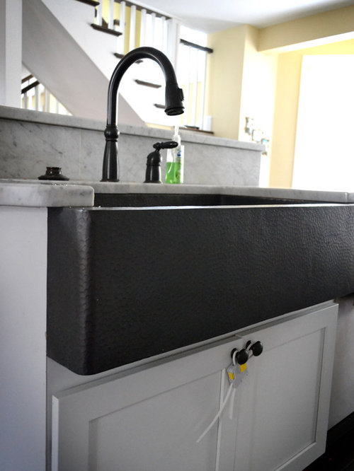 Black Apron Sink Home Design Ideas Pictures Remodel And
