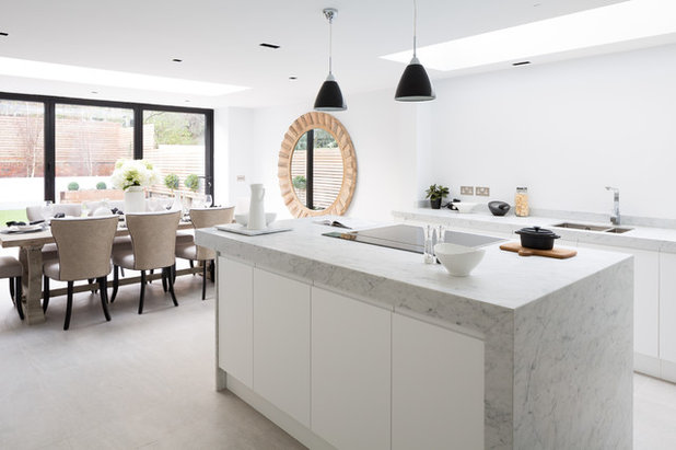 Transitional Kitchen by European Heritage