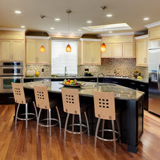 Contemporary Kitchen by Almaden Interiors, Inc.