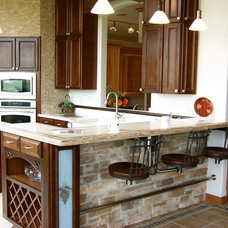 Traditional Kitchen by Seating Innovations