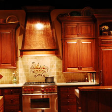 Traditional Kitchen by The Metal Peddler