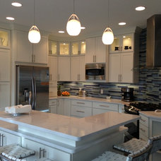 Contemporary Kitchen by Anthony Slabaugh Remodeling & Design