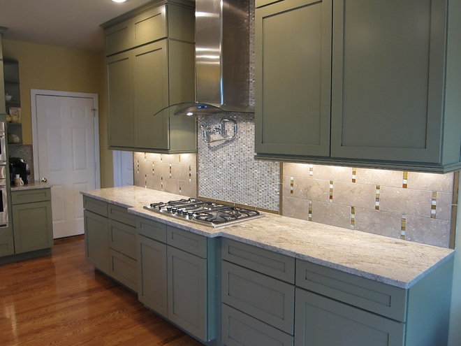 Contemporary Kitchen by Traditions in Tile