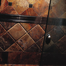 Traditional Kitchen by Capital Tile & Flooring