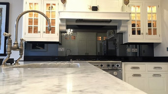 Kitchen Splashback - Toughened Tinted Mirror (Grey)