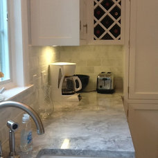 Traditional Kitchen by Stamford marble and tile