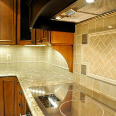 Traditional Kitchen by Status Ceramics