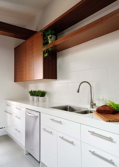 Contemporary Kitchen by Stephani Buchman Photography