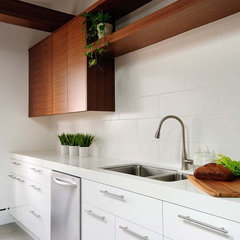 modern kitchen by Buchman Photo