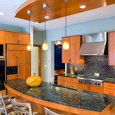 Contemporary Kitchen by Stonewood, LLC