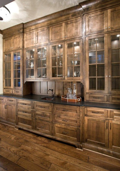 Rustic Kitchen by Stonewood, LLC