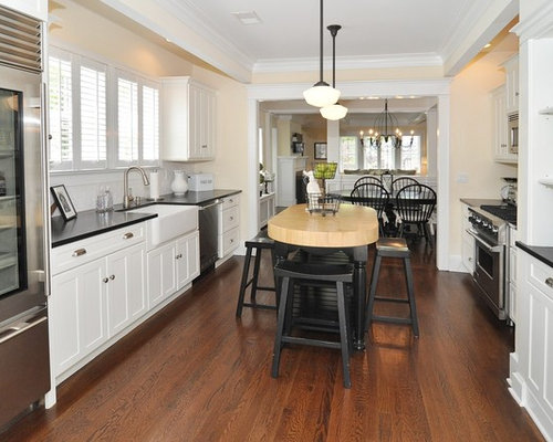 Countertop Dishwasher Ireland : White Cabinets Black Countertop Ideas, Pictures, Remodel and Decor