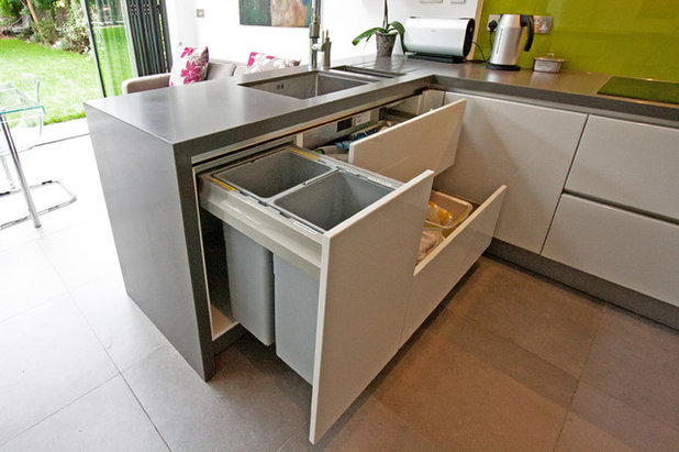Contemporary Kitchen By LWK Kitchens London