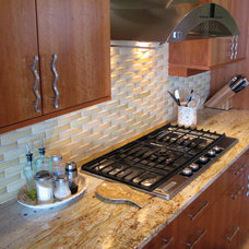 Eclectic Kitchen by Stratus Marble & Granite