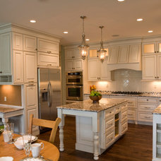 Traditional Kitchen by Stratus Marble & Granite