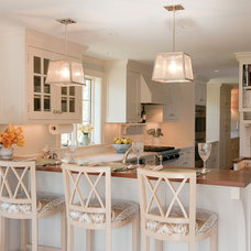 Transitional Kitchen by Su Casa Designs