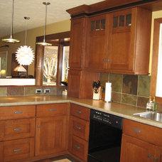 Craftsman Kitchen by Susan Brook Interiors