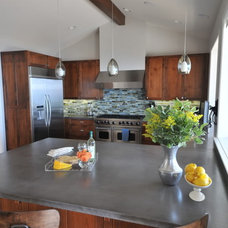 Transitional Kitchen by Susan Deneau Interior Design