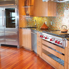 Eclectic Kitchen by Susan E. Brown Interior Design