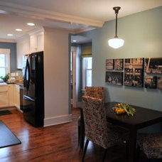Traditional Kitchen by Tangerine Designs Kitchens and Baths