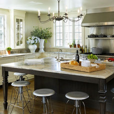 rustic kitchen by Taste Design Inc