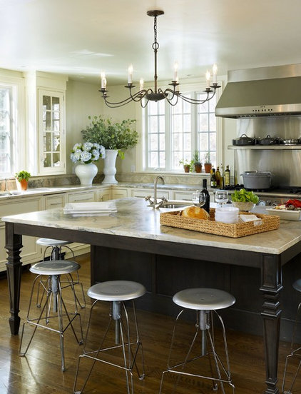 eclectic kitchen by Taste Design Inc