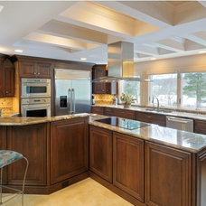 Traditional Kitchen by Taylor Bryan Company