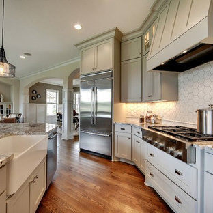 Kitchen – Taylor Creek – English Inspired Home – Spring 2015