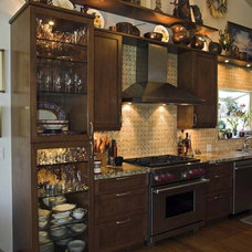 eclectic kitchen by Tervola Designs