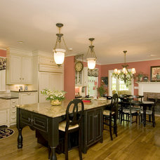 Traditional Kitchen by John Hall / The Hall Design Group llc.
