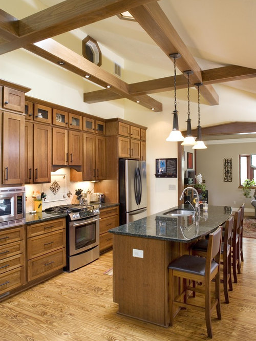Cherry Stained Cabinets Photos