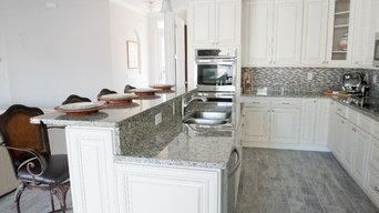 Kitchen - The Magnolia - Custom Residence