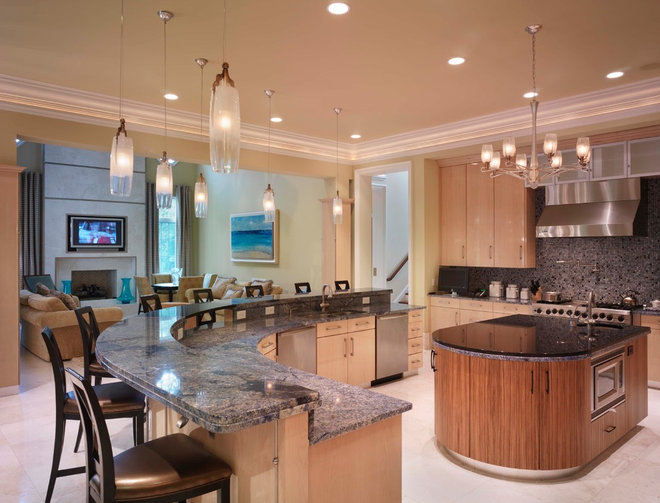 Contemporary Kitchen by The Studio of Christopher Phelps