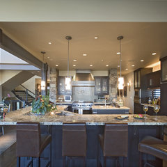 contemporary kitchen by THINK architecture Inc. - Tyler Kirk