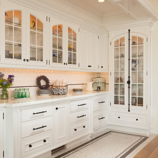 Inspiration For A Timeless Open Concept Kitchen Remodel In Salt Lake City With Gl Front