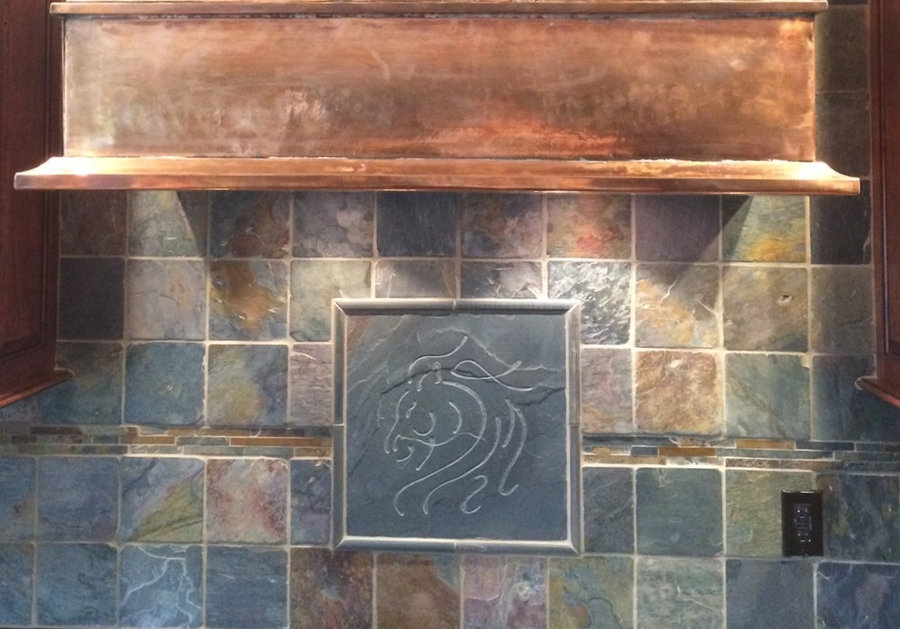 Kitchen Tile - Abstract Horse :The Equestrian Collection