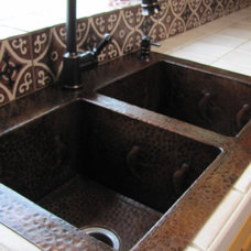 Traditional Kitchen by Mexican Tile and Stone